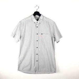Quicksilver Modern Fit Short Sleeve Button Down